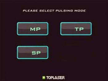 Интерфейс выбора режима работы