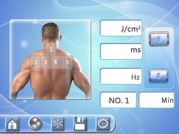 Установка параметров лечения для мужчин