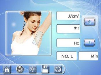Установка параметров лечения для женщин