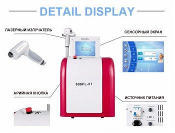 Диодный лазер Honkon YILIYA-808FL-01