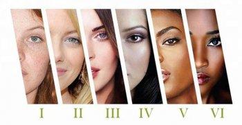 Поддержка шести фототипов кожи