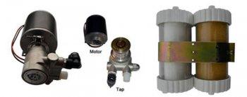 Подача и фильтрация воды в системе охлаждения